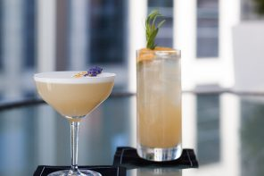 Drinks With A View- Market by Jean Georges at The Shangri-La