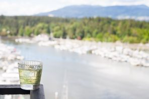 Drinks With A View- H Tasting Lounge at The Westin Bayshore